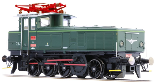 Jagerndorfer JC16742 - Austrian Electric Locomotive Series 1062.06 of the OBB (Sound Decoder)