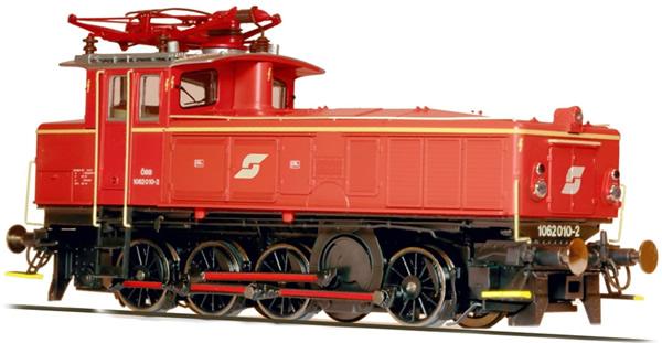 Jagerndorfer JC16752 - Austrian Electric Locomotive Class 1062.010 of the OBB (Sound Decoder)