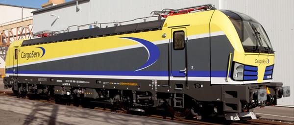 Jagerndorfer JC17042 - Austrian Electric Locomotive Series 1193 890 CargoServ Vectron (Sound Decoder)