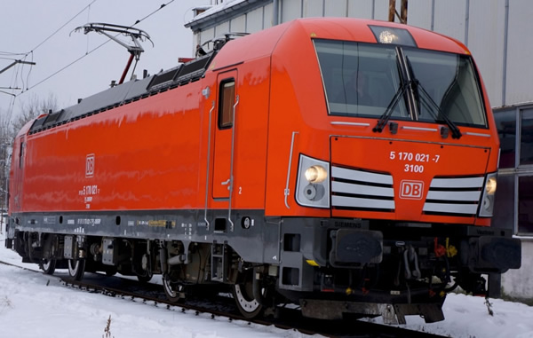 Jagerndorfer JC17050 - German Electric Locomotive Series 193 210 Vectron of the DB AG
