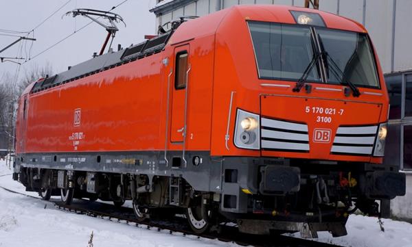 Jagerndorfer JC17052 - German Electric Locomotive Series 193 210 Vectron of the DB AG (Sound Decoder)