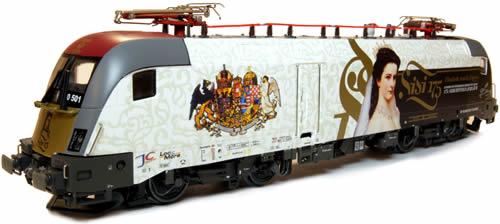 Jagerndorfer JC18062 - Hungarian Electric Locomotive 470.501 Taurus of the GySEV (Sound Decoder)