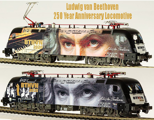 Jagerndorfer JC18152 - Exclusive 250 Year Beethoven Anniversary Locomotive