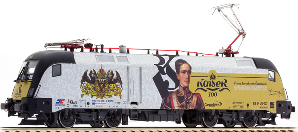 Jagerndorfer JC18172 - Austrian Taurus Electric Locomotive Series 182.523 Franz Joseph (Sound Decoder)