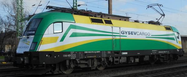 Jagerndorfer JC18192 - Austrian Electric Locomotive Series 182.570 GYSEVCARGO (Sound Decoder)