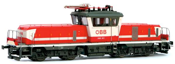Jagerndorfer JC24632 - Austrian Electric Locomotive 1163.011 of the OBB (DCC Sound Decoder)