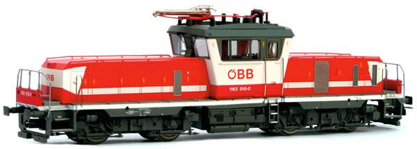 Jagerndorfer JC24640 - Austrian Electric Locomotive 1163.012 of the OBB
