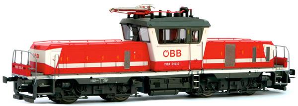 Jagerndorfer JC24642 - Austrian Electric Locomotive 1163.012 of the OBB (DCC Sound Decoder)