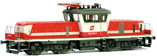 Jagerndorfer JC24650 - Austrian Electric Locomotive Class 1163.008 of the OBB