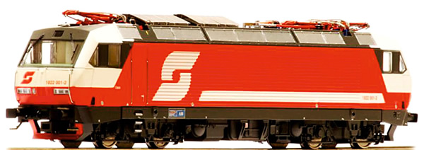Jagerndorfer JC25852 - Austrian Electric Locomotive Class 1822.001 of the OBB (DCC SOund Decoder)