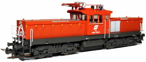 Jagerndorfer JC26032 - Austrian Electric Locomotive 1063.032 of the OBB (DCC Sound Decoder)