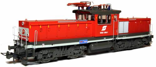 Jagerndorfer JC26042 - Austrian Electric Locomotive 1063.048 of the OBB (DCC Sound Decoder)