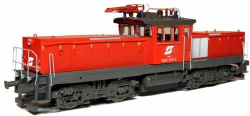 Jagerndorfer JC26052 - Austrian Electric Locomotive 1063.015 of the OBB (DCC Sound Decoder)