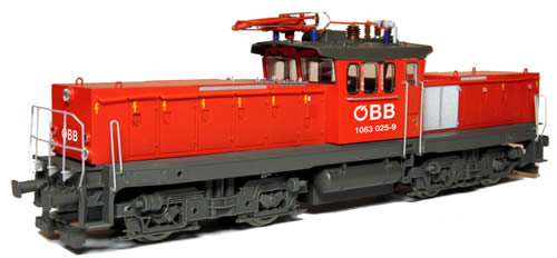 Jagerndorfer JC26062 - Austrian Electric Locomotive 1063.025 of the OBB (DCC Sound Decoder)