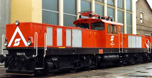 Jagerndorfer JC26522 - Austrian Electric Locomotive 1064.04 of the OBB (DCC Sound Decoder)