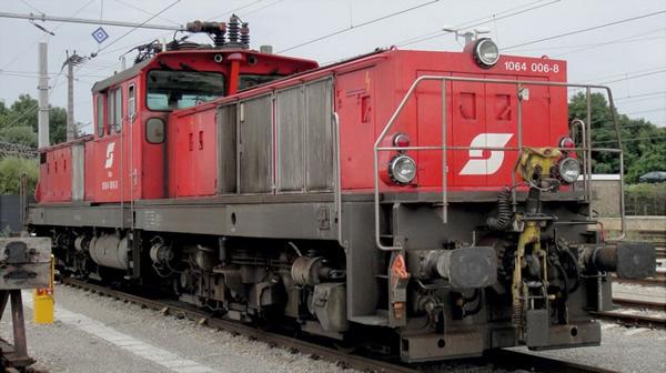Jagerndorfer JC26532 - Austrian Electric Locomotive Series 1064.006 of the OBB (DCC Sound Decoder)