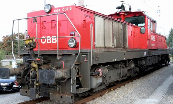 Jagerndorfer JC26542 - Austrian Electric Locomotive Series 1064.007 of the OBB (DCC Sound Decoder)