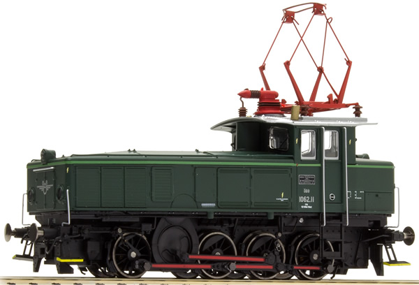 Jagerndorfer JC26732 - Austrian Electric Locomotive Series 1062.11 of the OBB (DCC Sound Decoder)