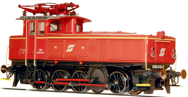 Jagerndorfer JC26750 - Austrian Electric Locomotive Class 1062.010 of the OBB