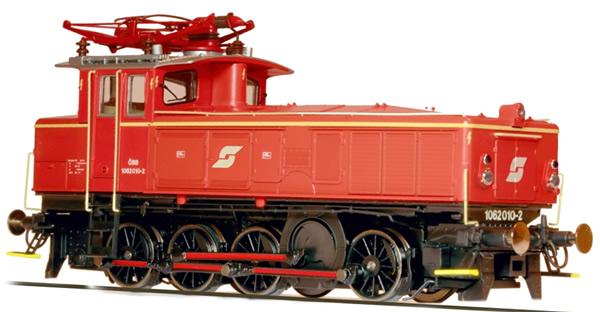 Jagerndorfer JC26752 - Austrian Electric Locomotive Class 1062.010 of the OBB (DCC Sound Decoder)