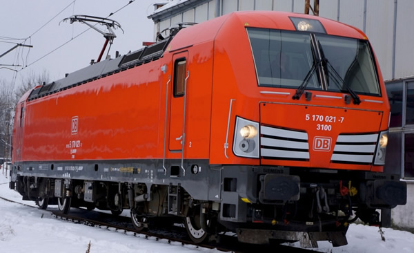 Jagerndorfer JC27052 - German Electric Locomotive Series 193 210 Vectron of the DB AG (DCC Sound Decoder)