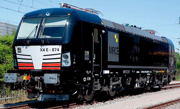 Jagerndorfer JC27072 - Austrian Electric Locomotive Series 193 X4E 874 Vectron MRCE (DCC Sound Decoder)