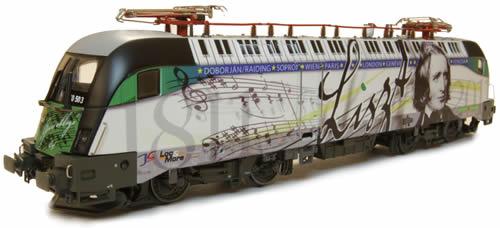Jagerndorfer JC28032 - Hungarian Electric Locomoitve 1047.503 Taurus of the GySEV (DCC Sound Decoder)