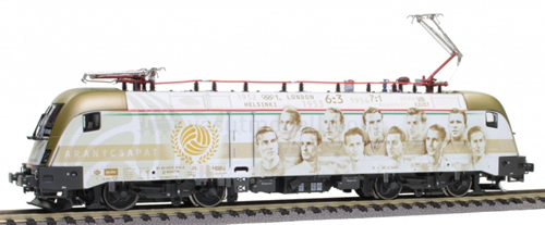 Jagerndorfer JC28072 - Hungarian Electric Locomotive Gold Team of the MAV (DCC Sound Decoder)