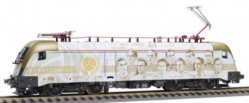 Jagerndorfer JC28072 - Hungarian Electric Locomotive Gold Team of the MAV (DCC Sound Decoder)