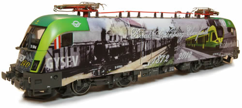 Jagerndorfer JC28082 - Hungarian Electric Locomotive 470.504 Taurus of the GySEV (DCC Sound Decoder)