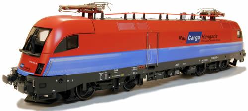Jagerndorfer JC28110 - Hungarian Electric Locomotive 1116 012 Taurus of the RC Hungaria