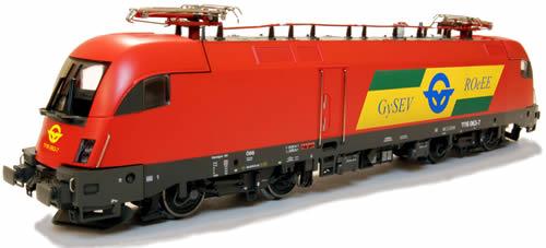 Jagerndorfer JC28140 - Hungarian Electric Locomoitve 1116 059 Taurus of the GySEV