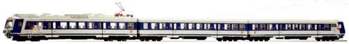Jagerndorfer JC34020 - Austrian 3pc Electric Railcar Set 4020.233 of the OBB (Dummy, non powered)