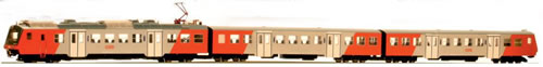 "Jagerndorfer JC404001 - Austrian 3pc Electric Railcar Set 4020.297 ""Sigmundsherberg"" of the OBB"