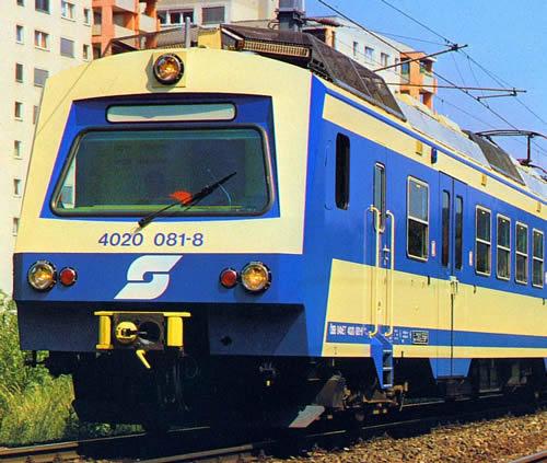Jagerndorfer JC40920 - Austrian Electric Railcar 4020.081 of the OBB