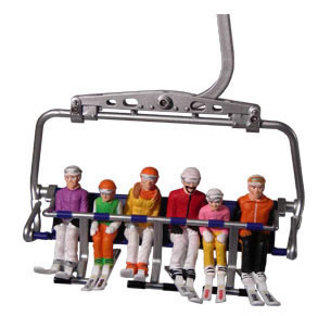 Jagerndorfer JC54200 - 6 Figures with HEAD Skis