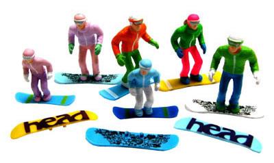 Jagerndorfer JC54300 - 6 Figures with Snowboards