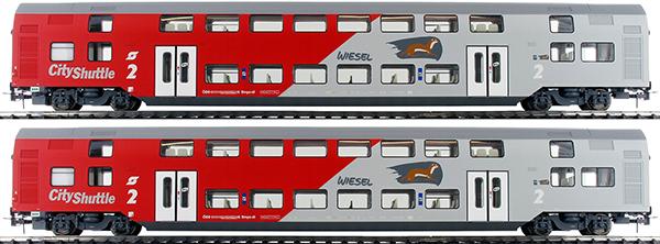 Jagerndorfer JC60201 - Austrian 3pc Double Decker Dosto Wiesel Set
