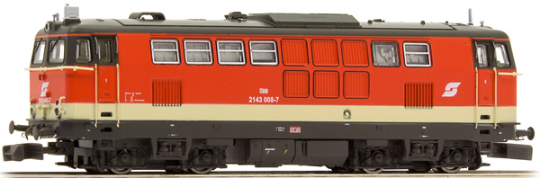 Jagerndorfer JC61010 - Austrian Diesel Locomotive Series 2143.008 of the OBB