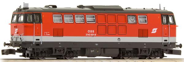 Jagerndorfer JC61020 - Austrian Diesel Locomotive Series 2143.021 of the OBB