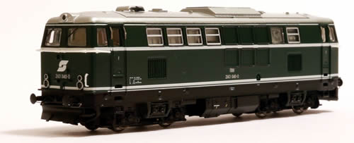 Jagerndorfer JC61040 - Austrian Diesel Museum Locomotive 2143.040 of the OBB