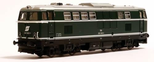 Jagerndorfer JC61040 - Austrian Diesel Museum Locomotive 2143.040 of the OBB