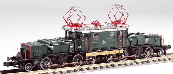 Jagerndorfer JC62012 - Austrian Electric Locomotive Class 1089 05 of the OBB (Sound)