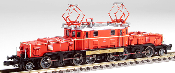 Jagerndorfer JC62022 - Austrian Electric Locomotive Class 1189 02 of the OBB (Sound)