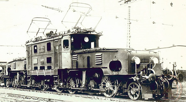 Jagerndorfer JC62060 - German Electric Locomotive BR E 89 of the DRG