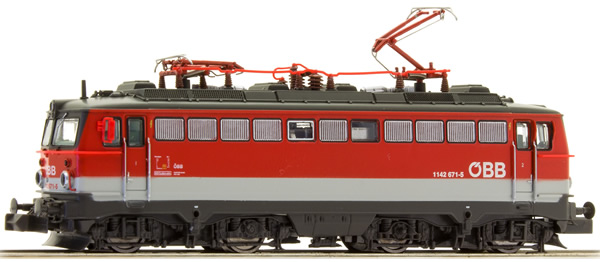 Jagerndorfer JC64040 - Austrian Electric Locomotive Reihe 1142.671 of the OBB