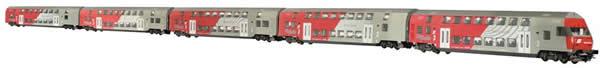 Jagerndorfer JC76500 - 5pc Austrian Diesel City Shuttle Wiener Szene of the OBB