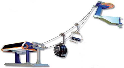 Jagerndorfer JC84390 - Playset UNIG-V Orange/Blue