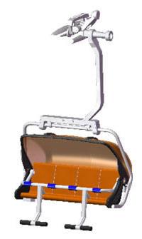 Jagerndorfer JC87100 - 4 Seater - Orange