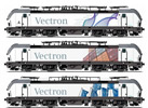 3pc Austrian Electric Locomotive Series 193 Vectron
